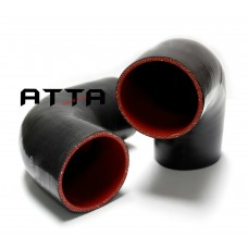 "2"" - 2"" 90 Degree Elbow 4-Ply Turbo Coupler Intercooler Piping Silicone Hose"